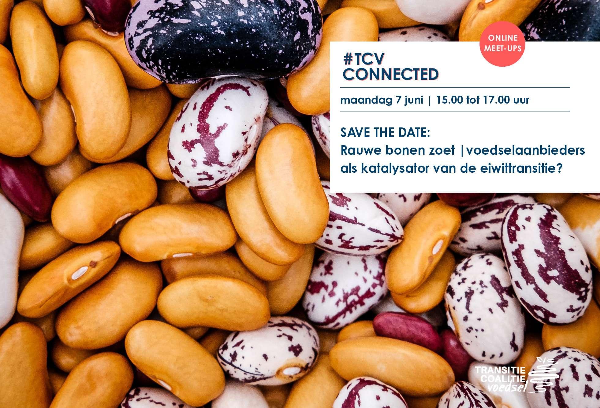 Rauwe bonen zoet | Voedselaanbieders als katalysator van de eiwittransitie? – Ma 7 juni